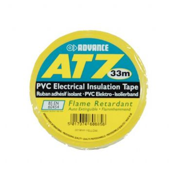 PVC Tape, 19mm - Yellow